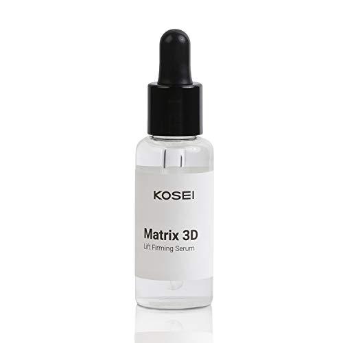 Kosei - Matrix 3D - Siero Rassodante - 30 ml - Formato Booster - Trattamento Anti-età - Elimina le Rughe - Migliore le Linee dell'Espressione - Vegano - Senza Alcohol - Senza Silicone - Unisex