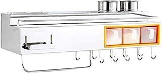 SEESEE.U Une étagères de Cuisine en métal Salle de Bain étagère à épices Couteau Suspendu Outil Rack égouttoir ustensile P...