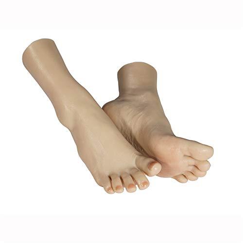 AFYH Foot Fetishes, Femelle Faux Pieds Pieds de beauté féminins réalistes Réplication 1: 1 de l'inversion des Pieds, fournissant Les Meilleurs Pieds artificiels