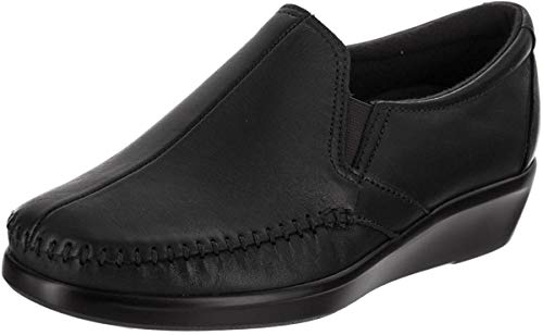 SAS Women's, Dream Slip-On Loafer Black 9 M