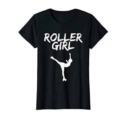 Roller Girl Shirt Rollkunstlauf. Für Rollschuh Mädchen T-Shirt