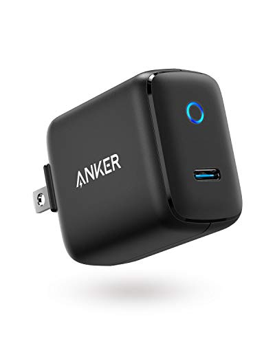 USB C Wall Charger, Anker 15W 5V/3A PowerPort C 1 Type C Fast Charger, Super Compact with LED Indicator, Foldable Plug for iPhone Xs/Max/XR/8, Pixel 3/2/XL, iPad Pro, Galaxy S9/S8/Plus, and More