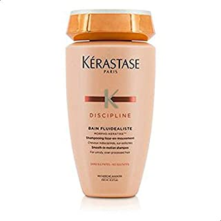 Discipline Bain Fluidealiste Smooth-In-Motion Sulfate Free Shampoo - For Unruly, Over-Processed Hair (New Packaging)