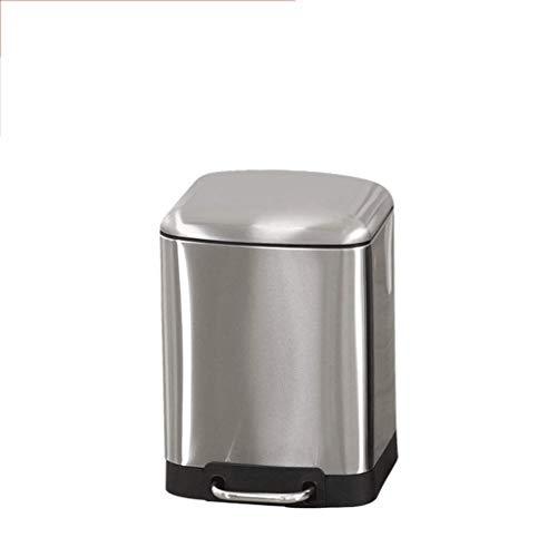 XZJJZ Bote de Basura con Sistema de Control de olores, Cubo de Basura de litro for la Cocina, Oficina, hogar - Silencioso y Suave