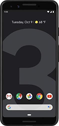 Google Pixel 3 Unlocked GSM/CDMA - US Warranty (Direct from Google) (Just Black, 64GB)