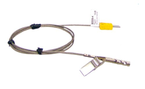 Cooper-Atkins 50306-K Type K Air Oven/Freezer Thermocouple Probe with Clip, -100 to +600 degrees F Temperature Range
