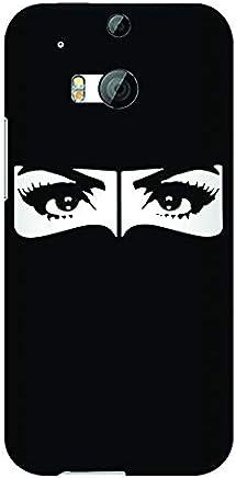 Stylizedd HTC One M8 Slim Snap Case Cover Matte Finish - Naqabi Eyes