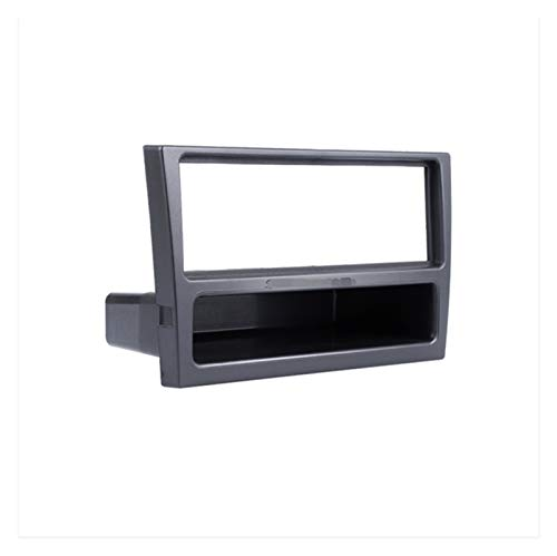 ZHANGXL XELIAN Black 1Din Coche Radio Fascia Ajuste para Opel Corsa (C) Meriva Omega (B) Vectra Vivaro Surround Surrow Dash Player Frame