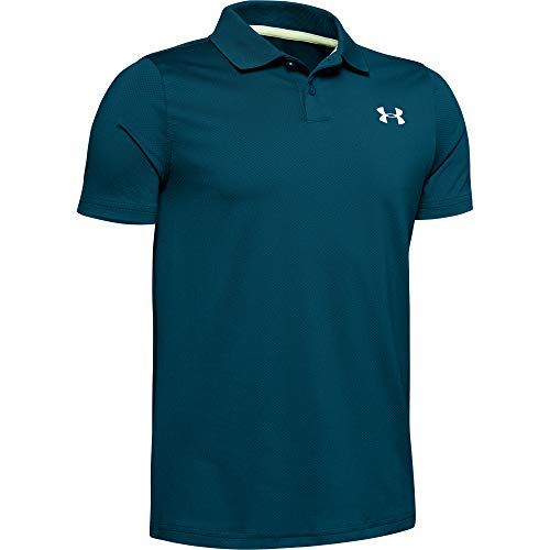 Under Armour Jungen Poloshirt Performance Polo 2.0, Grün, YLG, 1342083-417
