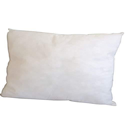 7dreams® Polyester Vlies Füllkissen 30x50cm Inlett Kissen für Dekokissen, Kopfkissen, Sofakissen - Made in Europe - waschbar bei 30°C - extra fest und langlebig