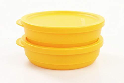 TUPPERWARE Kühlschrank Geburtstagskracher 200ml rund orange Frischebehälter (2)