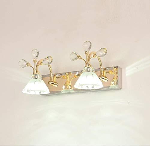 LED Badkamer Crystal Mirror Front Light Europese Minimalistische Badkamers Mirror kabinet Lights kaptafel Muur Lamp (Kleur: 48 * 16,5 cm), Kleur: 64 * 16.5cm (Color : 34 * 16.5cm)
