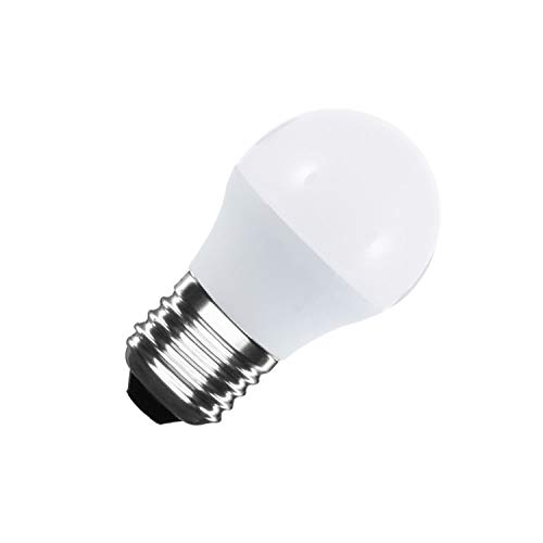 LEDKIA LIGHTING Bombilla LED E27 Casquillo Gordo G45 5W Blanco Neutro 4000K - 4500K
