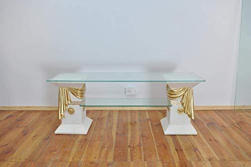 JV Moebel Klassische RTV Sideboard Fernseh Tisch Tische Tv Board Medusa Regal Vitrine 1877