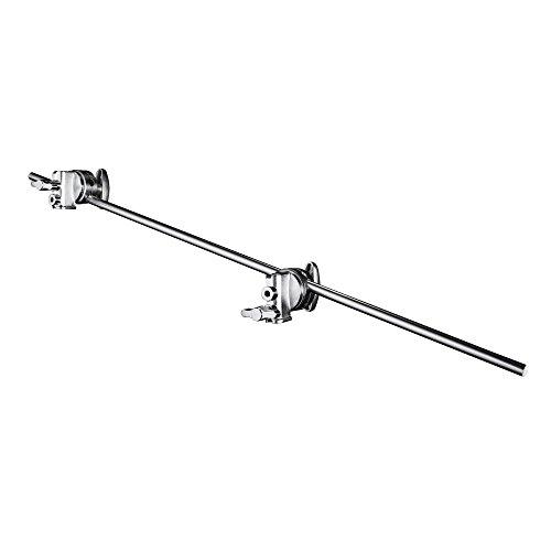 Walimex Pro Galgen mit 2 Schraubklemmen, 100 cm (z.B. zum Einsatz am Lampenstativ oder Querstangen)