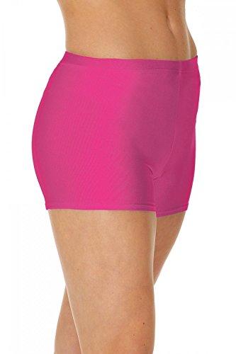 Roch Valley Shorts, Pantaloncini Micro Hot Donna, Rosa (Raspberry), 2(Taglia Produttore:134-140)