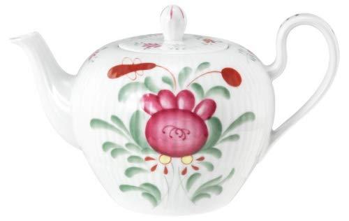 Königlich Tettau Porzellan Amina Ostfriesenrose Teekanne 0,75 l