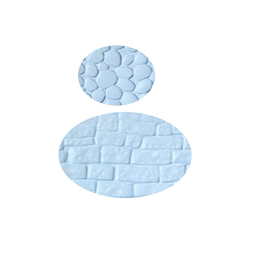 Sulifor Backform, 3D Silikon Schokoladenkuchen Backform Sugarcraft Dekoratives Formwerkzeug