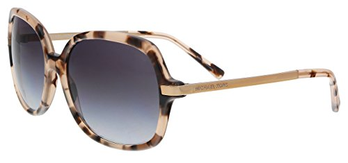 Michael Kors Damen Adrianna Ii 316213 57 Sonnenbrille, Pink (Pink Tortoise/Light Grey Gradient)