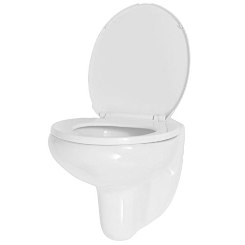 Tidyard Toilette avec Siège | Cuvette WC Suspendu |...