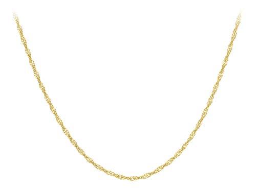 Carissima Gold Collar de mujer con oro amarillo 9 K (375), 51 cm