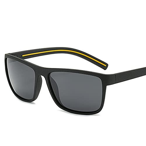 ZEMENG Gafas De Sol De Marco Completo, Gafas De Sol Polarizadas De Estilo Deportivo, Gafas De Sol Flexibles Y Cómodas para Pescar,C