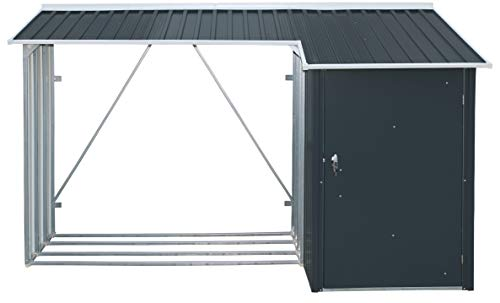 Duramax Kombi-Brennholz-Aufbewahrung, 1,83 x 0,61 m