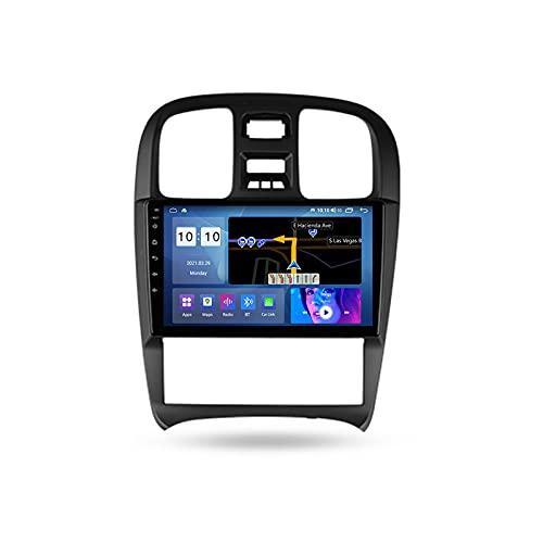 ADMLZQQ Autoradio Bluetooth para Hyundai Sonata EF 2001-2012 2 DIN Android Radio De Coche 9'' Pantalla Táctil 5G WiFi Plug and Play Soporte Carautoplay/GPS/Dab+/OBDII,M300s