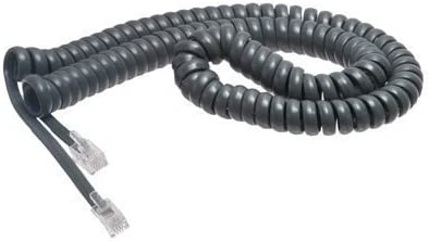 Toshiba 12 Ft Gray Handset Cord for DKT3000 Series Phones - in Factory Sealed Bag