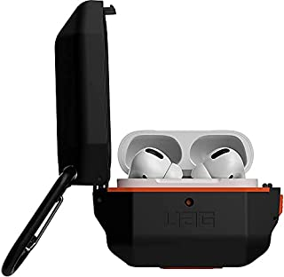URBAN ARMOR GEAR UAG Compatible with AirPods pro - black / orange