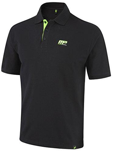 MusclePharm Uomo Graphic 444 Vest-Black, Medium, M