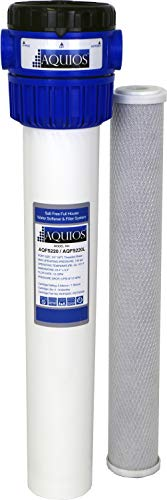 Aquios AQFS220 Full House Salt Free Water Softener and Filter System - New Model