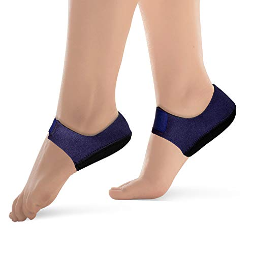 Heel Sleeve Protectors Cushion Pads Heel Spurs Relief Support for Plantar Fasciitis Pain Achilles Tendinitis (Large)