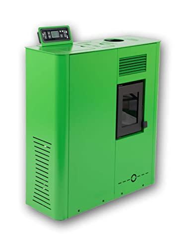 Estufa de pellets de Pasillo Micro Fuji-MSV 6Kw Verde
