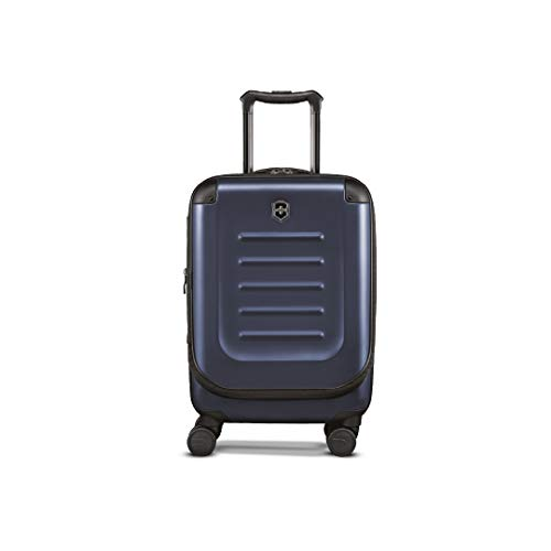 in budget affordable Victorinox Spectrum 2.0 Expandable Compact Global Carry-on Bag (One Size, Navy Blue)