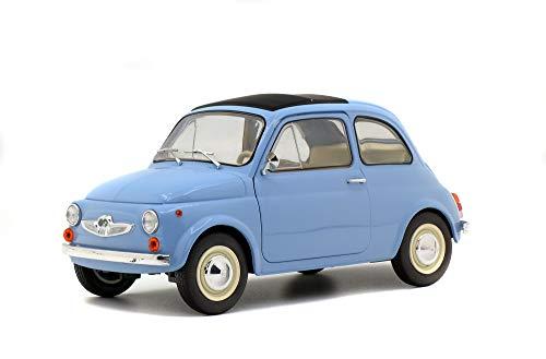 Solido S1801405 1:18 Steyr Puch 500 421185030-1, blau, Modellauto, Modellfahrzeug