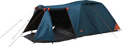 McKINLEY Camp-Zelt Vega 40.2 sw 900 BLAU/ORANGE - -