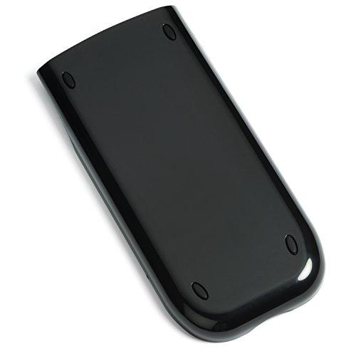 Amped Electronics - Black - Replacement Slide Cover fits Texas Instruments TI-84 Plus, TI-84 Plus Silver Edition, TI-89 Titanium - Top Grade OEM Quality Case