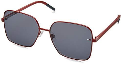 Tommy Hilfiger TJ 0007/S gafas de sol, ROJO, 58 para Mujer