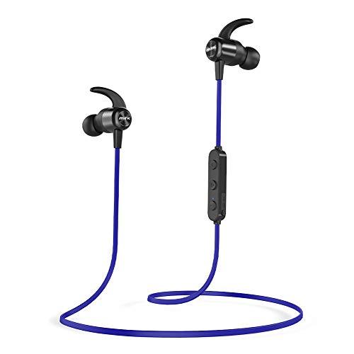 Bluetooth Kopfhörer, M-T-K Kopfhörer Kabellos mit Bluetooth 5.0, IPX7 Wasserschutzklasse, 20H Stunden Wiedergabezeit, Sport Kopfhörer für Joggen/Laufen iPhone Android
