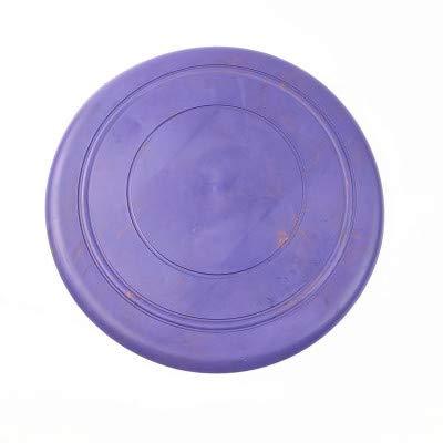 OPORA Frisbee Perro (10 Piezas) Juguete Volador, 100% Soft Natural Non-Toxic Rubber Dog Flying Disc, para Perro Pequeño/Mediano/Grande,Purple,17.5cm