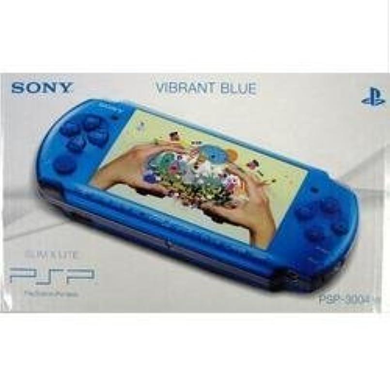六野心案件PSP PSP本体(PSP-3004)バイブラント?ブルー【海外ヨーロッパ版】 新品