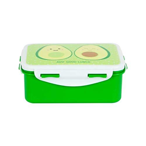 Maia Gifts Happy Avocado Lunch Box