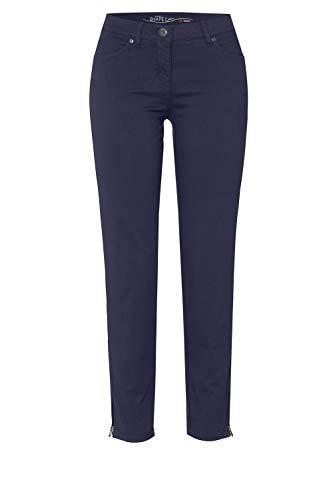 TONI Damen 7/8-Hose »Perfect Shape« aus nachhaltig gefärbtem Baumwoll-Stretch 46 Marine