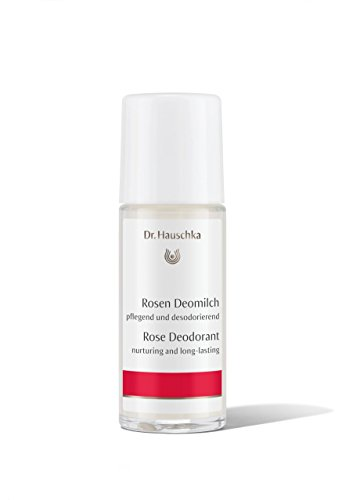 Dr. Hauschka Rosen Deomilch Deodorant Roller unisex, Langanhaltende und Frische Pflege, 1er Pack (1 x 50 ml)