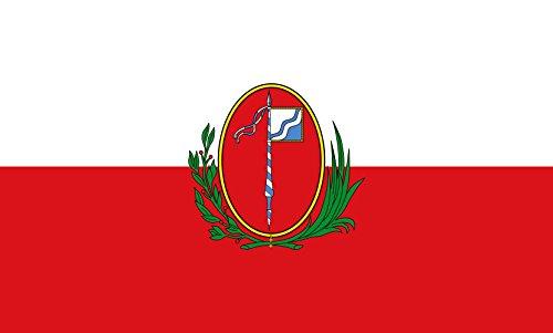 Unbekannt magFlags Tisch-Fahne/Tisch-Flagge: Miesbach, St 15x25cm inkl. Tisch-Ständer