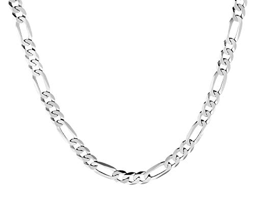 Quadri - Elegante Halskette (Figaro)...