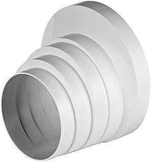 Conector de rosca reductor para tubo de ventilación