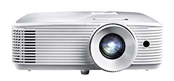 Optoma 3400 Lumens 1080p Home Theater Projector -White  HD27HDR  -  Renewed