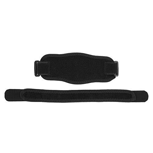 Tennisarmbåge, blå sportarmbåge, tyg + EVA-skydd som andas för att skydda armbågen